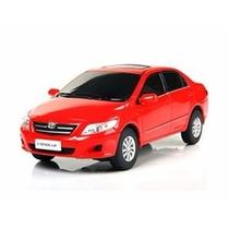 Carro Controle Remoto Toyota Corolla Vermelho 1:24 Rastar