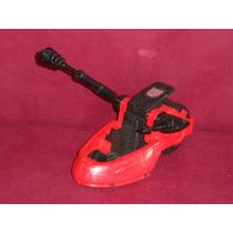 Antigo Veículo Vermelho Com Holograma Da Hasbro De 1987