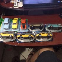 Coleção Com 08 Carros Classicos Na Caixa Lacrada Maverick Gt