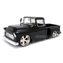 Chevy Stepside 1955 Jada Toys 1/24 90369-preto
