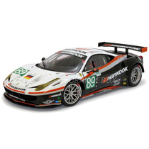 Ferrari 458 Itália Gt2 24hs Lemans Hot Wheels Elite X5473