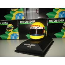 1/8 Minichamps Capacete Senna 1979 Minichamps Formula 1