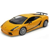 Lamborghini Gallardo Superleggera 1:18 Motormax 73181amarelo