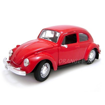 Volkswagen Fusca 1:24 Maisto Vermelho #31926