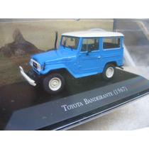 Miniatura Toyota Bandeirante Coleção Inesqueciveis - Ixo