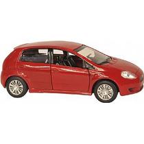 Miniatura Metal Carros Brasileiros 1:43 Fiat Punto 2008 Nova