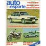 Auto Esporte Nº226 Monza 2p Honda Cb 450 E Escort Sr Ferrari