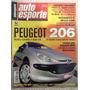 Auto Esporte Jul 2001 434 Peugeot Clio Ka Uno Nissan Jaguar
