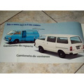 Brochura De Venda Datsun C20 Pick Up Bus Camioneta