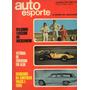 Auto Esporte Nº85 Novembro/1971 Corcel Gt Xp Opala 2500 4100