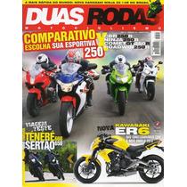 Duas Rodas N°441 Jun/2012 Cbr 250r Ninja Comet Gt Roadwin