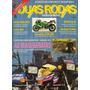 Duas Rodas N°196 Dez/1991 Kawazaki Zxr 400 Honda Cg125 Today