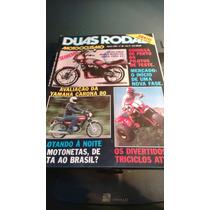 Revista Duas Rodas Agosto De 1982