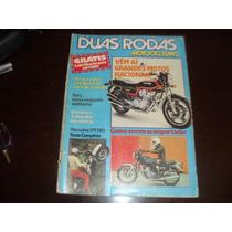 Revista Duas Rodas Motociclismo Janeiro 1982