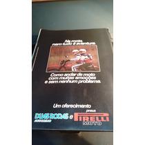 Encarte Duas Rodas Pirelli Agosto 1982