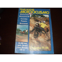 Revista Duas Rodas Motociclismo Setembro 1979