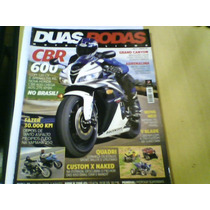 Revista Duas Rodas Nº381 Cbr 600 Custom X Naked