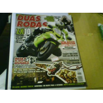 Revista Duas Rodas N°351 Zx10 Com Poster Gilson Scudeler