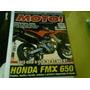 Revista Moto N°127 Honda Fmx 650