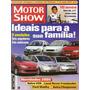 Motor Show Nº254 Peugeot 206 Clio Fiesta Palio Corsa Fox V50