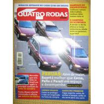 Quatro Rodas Abr 97 Xantia Kombi Ranger Lotus Clio Ka Corsa