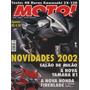 Moto! N°82 Honda Cg 125 Titan Kawasaki Zx-12r Salão De Milão