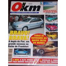 Revista 0km N°7 Out/1995 Bravo!brava! Fiat Toyota Chrysler