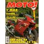 Moto! N°42 Honda Cbr 900 Rr Kawasaki Zx-9r V Max Cb Gs 500e