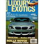 Modified Luxury & Exotics N°08/2005 Bmw Brabus V12 G55 Rolls