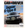 Car And Driver Mai/2002 Jaguar S-type R Bmw X5 Civic G35 S60