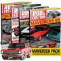 Maverick Pack (4 Edições Rod&custom Por Um Preço Especial)