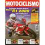 Motociclismo 26 * R1 2000 * Cagiva 125 * Ducati