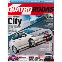 Automóveis: Revista Quatro Rodas - Nº. 594 / Agosto De 2009