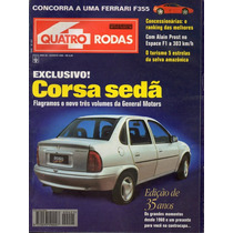 Revista Quatro Rodas Nº421 (corsa Sedan Uno Ep Volvo 850)