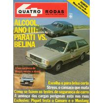 Revista Quatro Rodas Nº265 (parati, Belina, Monza, Camaro)