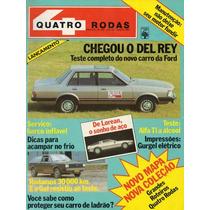 Revista Quatro Rodas Nº251 (del Rey, Gol, Alfa Ti, Gurgel)