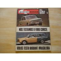 Revista Quatro Rodas - Nº 99 - 1968 - Ford Corcel