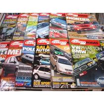 Lote De 12 Revistas Quatro Rodas - Ano 2002 Completo