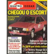 Revista Quatro Rodas Nº276 (escort, Voyage Gls, Kombi, Dkw)