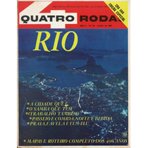 Quatro Rodas Nº54 Janeiro 1965 Rio De Janeiro