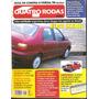 Revista Quatro Rodas Junho De 1997 - N°443 - Fiat Siena