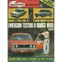 Quatro Rodas 152 1973 Opala 74 Dodge 1800 Puma