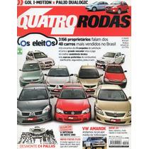 Quatro Rodas Nº599 Os Eleitos Vw Amarok Bmw Z4 C4 Pallas A4