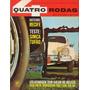 Quatro Rodas Nº50 Setembro 1964 Simca Tufão