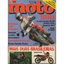Quatro Rodas Moto N°24 Yamaha Rx 180 Honda Xl 300s Vt 500e
