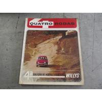 Quatro Rodas Coleção Mapas Turísticos Willys Volume 4 - 1965