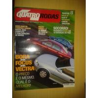 Revista Quatro Rodas N°486 Bora X Focus X Vectra * Lancer