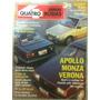 Quatro Rodas Jul 90 360 Apollo Monza Verona Senna Prêmio Gol