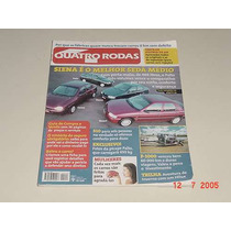 * Revista 4 Rodas - Polo - Siena - Corsa - Escort - Jul 97 *