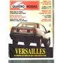Quatro Rodas - 1991, Capa Versailles